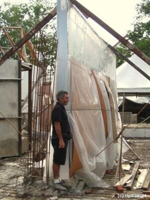 9 Tonnen Plexiglas für Malaysia