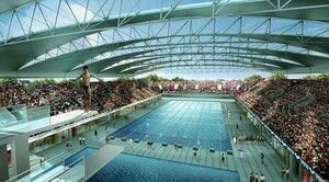 POOL WINDOWS FOR SINGAPORE SPORTS HUB