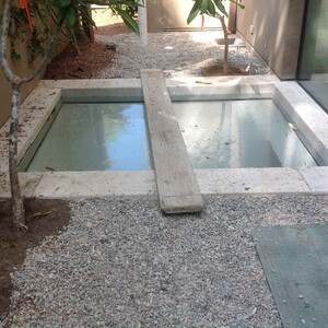Reflecting Pool with Glas Bottom